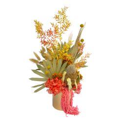 Bright Dried Flower Arrangement - DA003