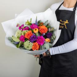 Bright Florist Choice Bouquet - FCQ003