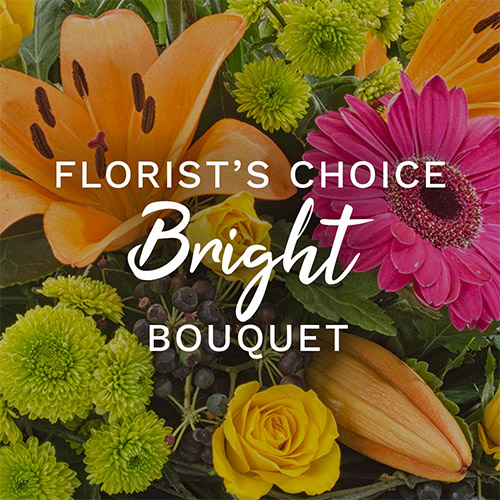 Bright Florist Choice - fcq003